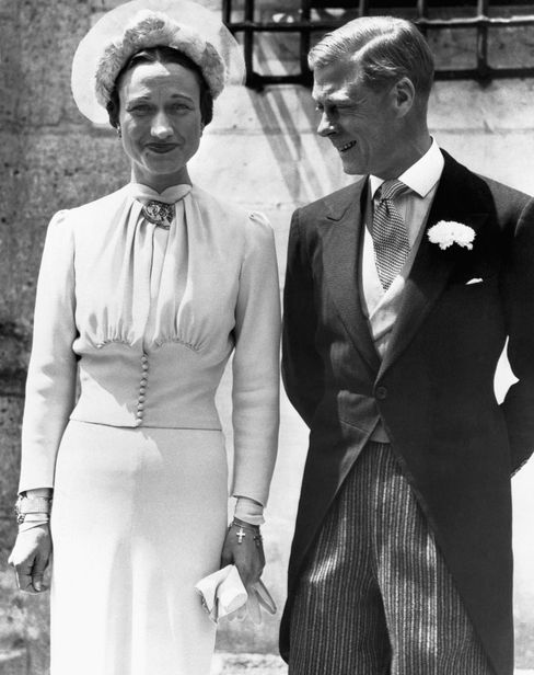 Wallis Simpson mit dem abgetretenen König Edward VIII.