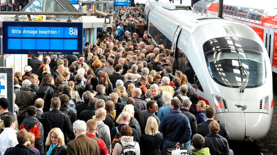 Europäischer Gerichtshof: Bahn muss für Verspätung bei Unwetter zahlen