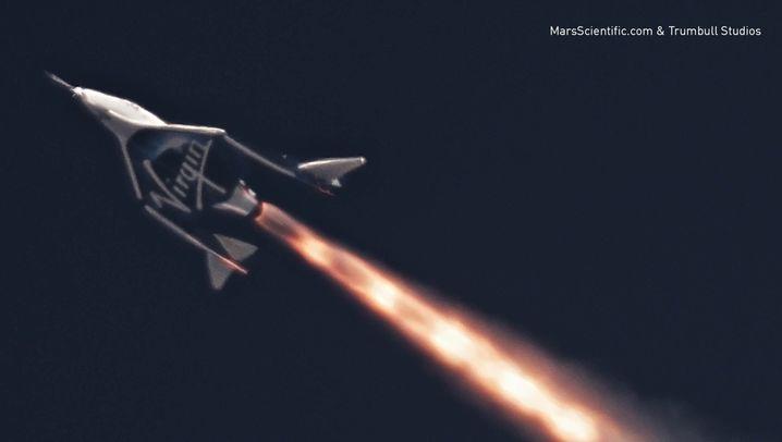 """""""VSS Unity"""": 30 Sekunden Raketenantrieb"""
