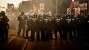 Mehr als 20.000 Menschen auf der Straße – Demo wegen Corona-Verstößen aufgelöst