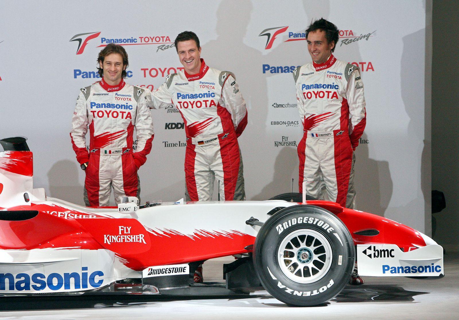 GERMANY F1 TOYOTA