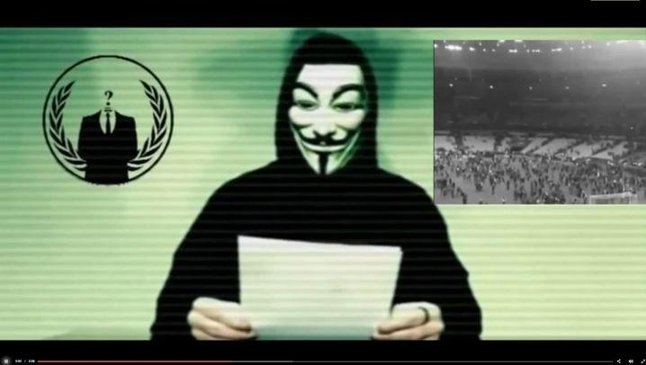 Hackerkrieg: Anonymous droht mit Vergeltung