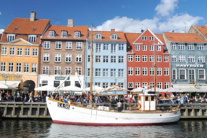 Nyhavn in Kopenhagen – hier endet die Radtour