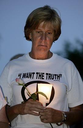 Bush protester Cindy Sheehan.