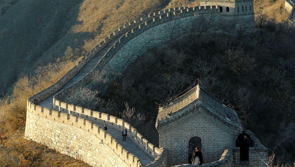 China: Melania Trump auf der Großen Mauer