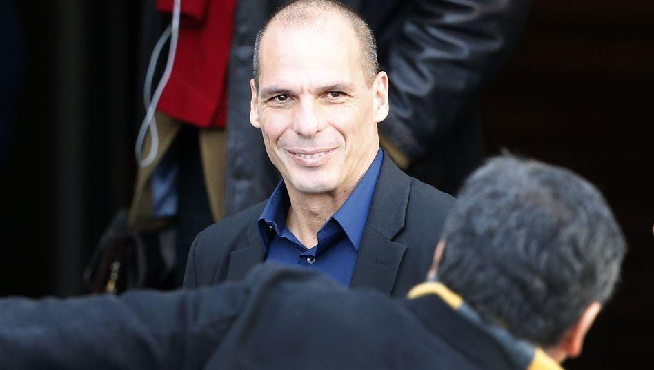 Griechischer Finanzminister Varoufakis: Regierung ändert offenbar ihren Kurs