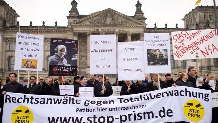 Stop Prism Now: Rechtsanwälte kämpfen gegen Totalüberwachung