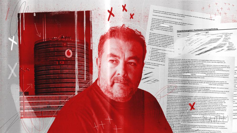 Informant Inan Koc: Schon mehr als 1000 Mails an Vodafone geschrieben