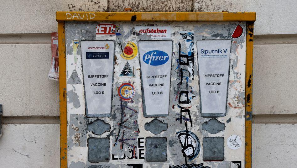 »Impfstoffautomat« in Berlin: Ein Thema, das zum Glaubensstreit geworden ist