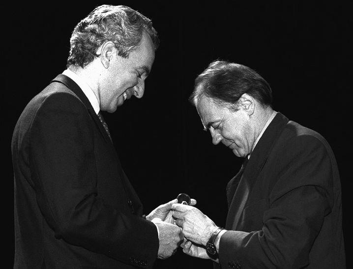 Bruno Ganz erhält den Iffland-Ring (1996)