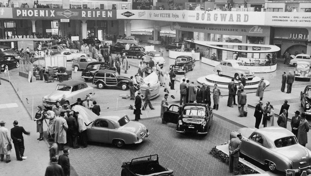 IAA 1951: Mit null PS ins Autoparadies