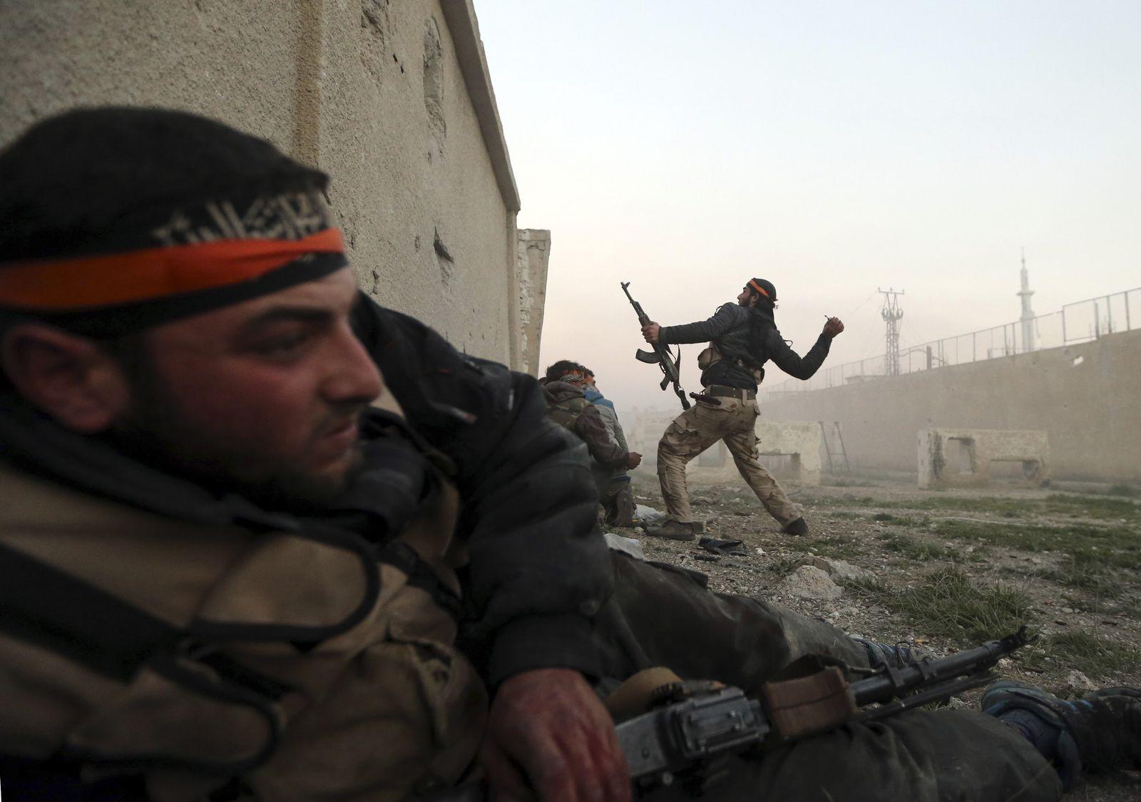 Syrien/ Damaskus/ Kämpfe