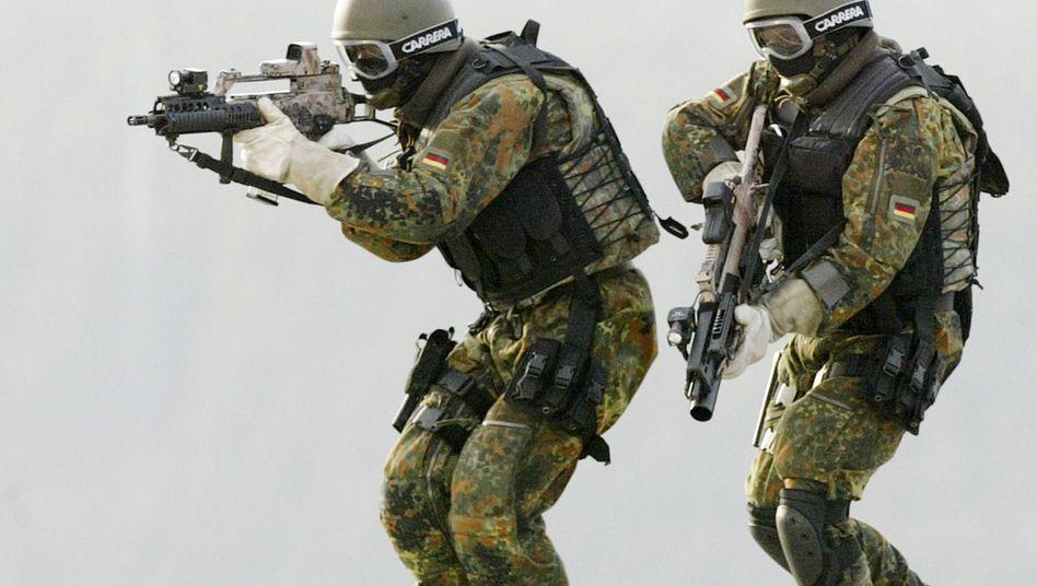 Übung von KSK-Soldaten: Spezialkräfte fassen hochrangigen Extremisten