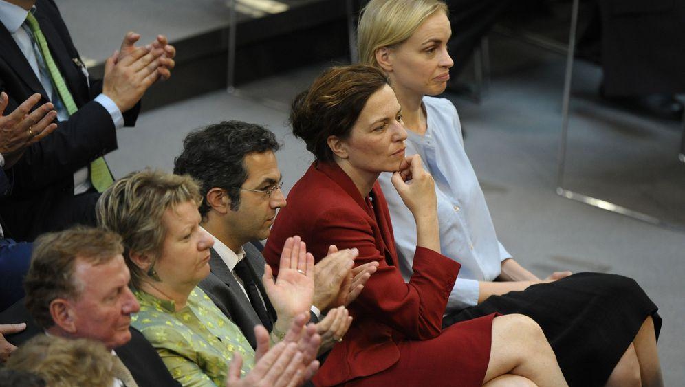 Martina Gedeck: Echte Wahlfrau, Falsche Twitterin