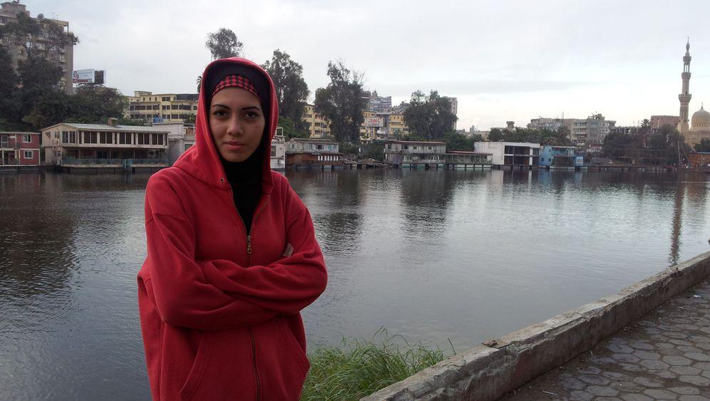 Ägyptische Jung-Rapperin: Da geht mir das Kopftuch hoch