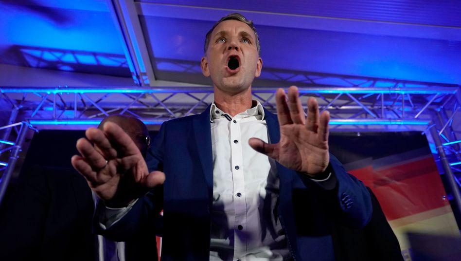 Björn Höcke: Ergebnis in Thüringen stärkt seine Position in der AfD