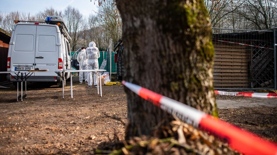 Lügde: Spurensicherung auf dem Campingplatz (Archivbild)