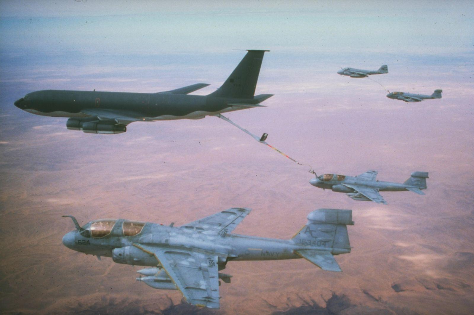 US Carrier Air Wing Three aircraft (sic