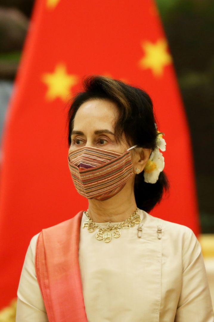 War mal die Hoffnung des Westens auf Wandel: Myanmars Regierungschefin Aung San Suu Kyi