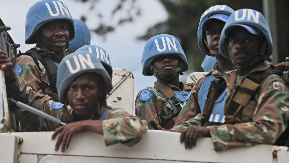 """Blauhelm-Truppen im Kongo: Einsatzkräfte sollen nun """"beispielloses"""" Mandat bekommen"""