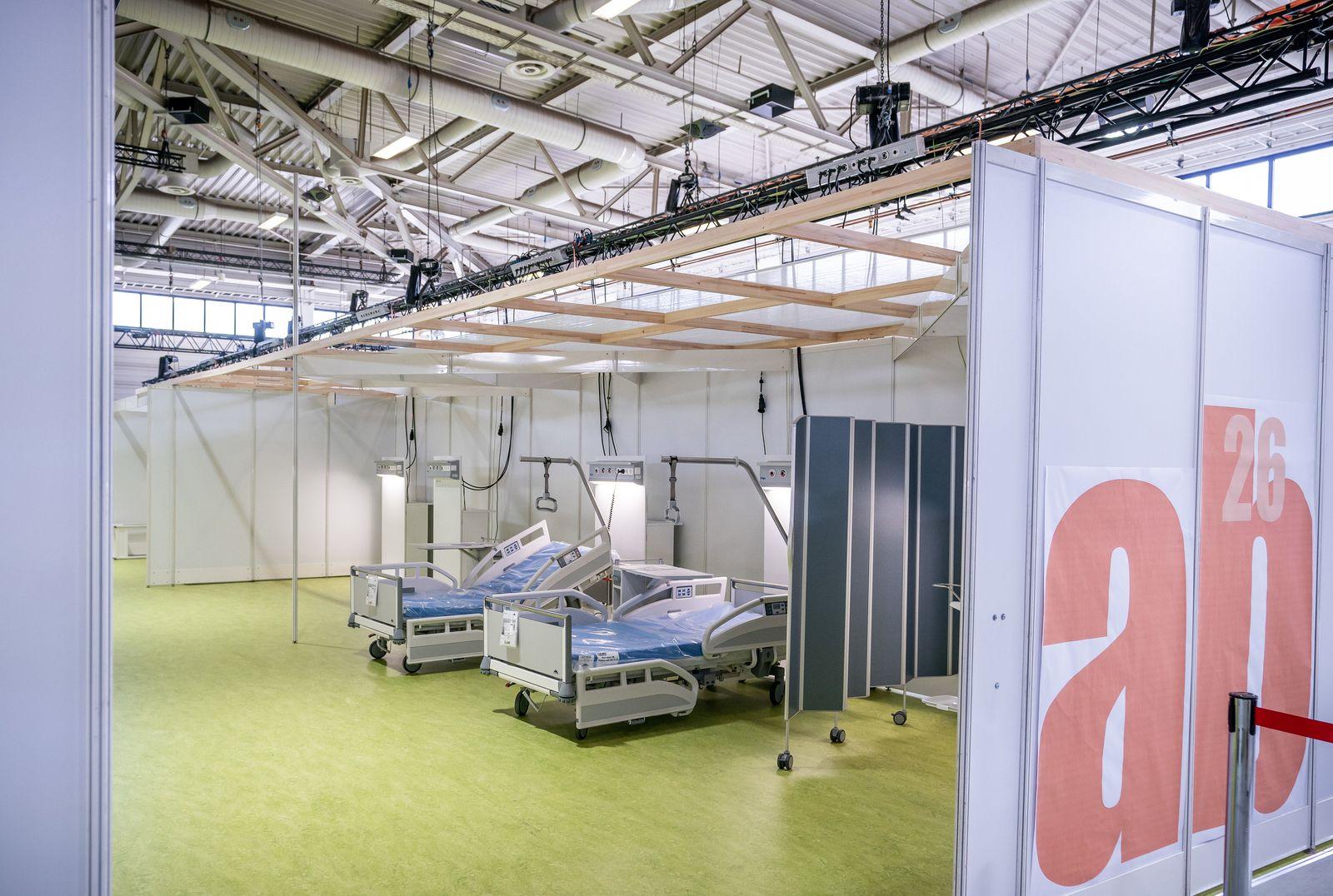 Coronavirus - Behandlungszentrum Messe Berlin
