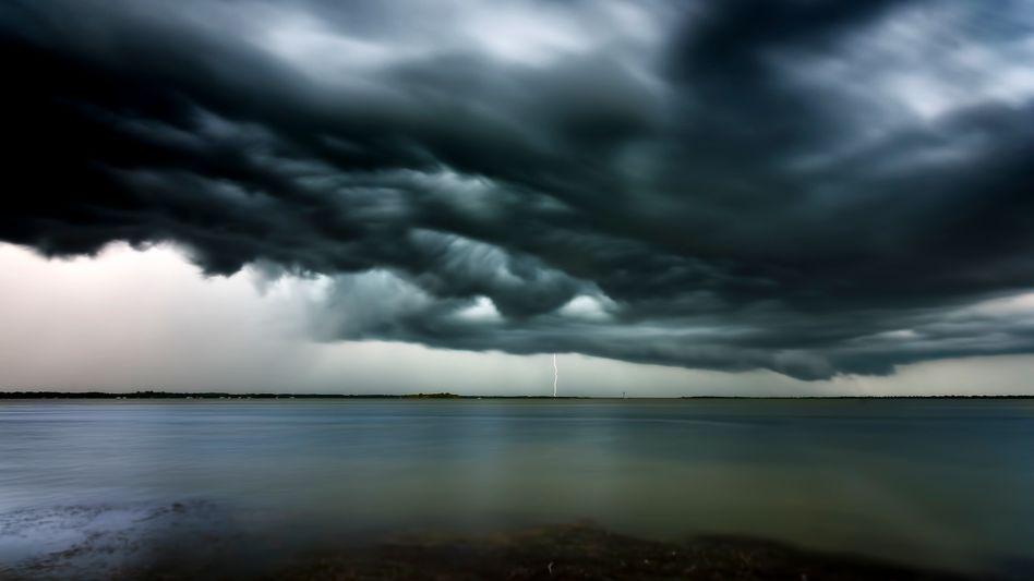 Gewitter über Florida: Unruhige Zeiten in der Klimaforschung