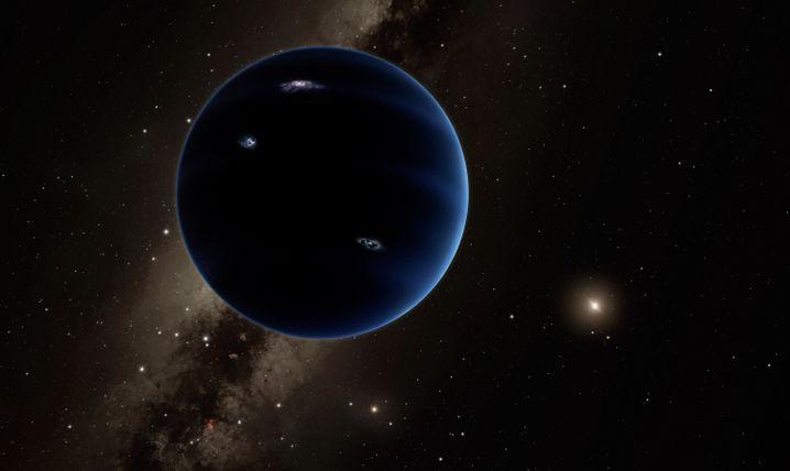 """Planet Neun"" (künstlerische Darstellung): Rätselhaftes Objekt am Kuiper-Gürtel"