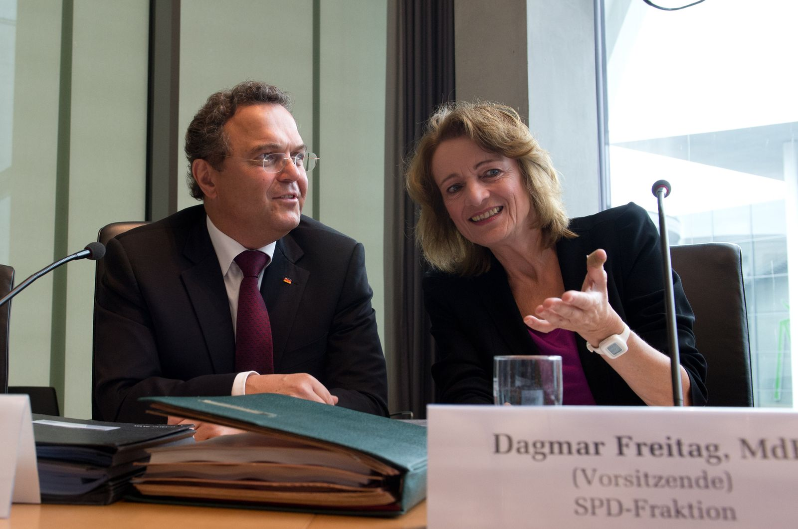 Bundestag - Sondersitzung des Sportausschusses