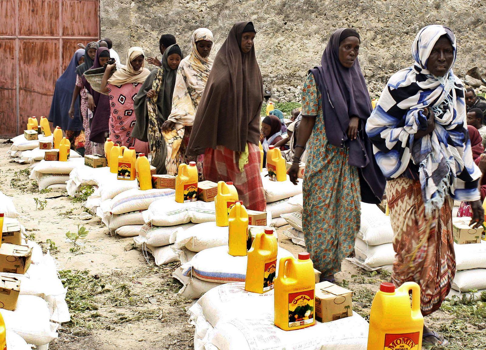 Ostafrika / Flüchtlinge / Mogadischu