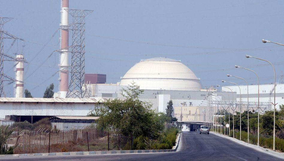 Atomkraftwerk im südiranischen Buschehr