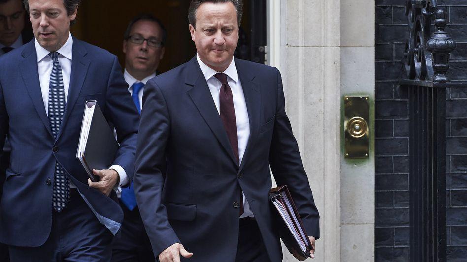 """Britischer Premier Cameron: """"Es gab keine Alternative"""""""