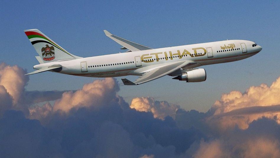 Etihad Airways: Passager verklagt Fluglinie