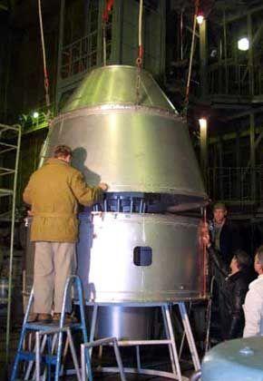 """""""TrailBlazer"""" im November 2002: Technikcheck des ersten privaten Mondraumschiffs"""