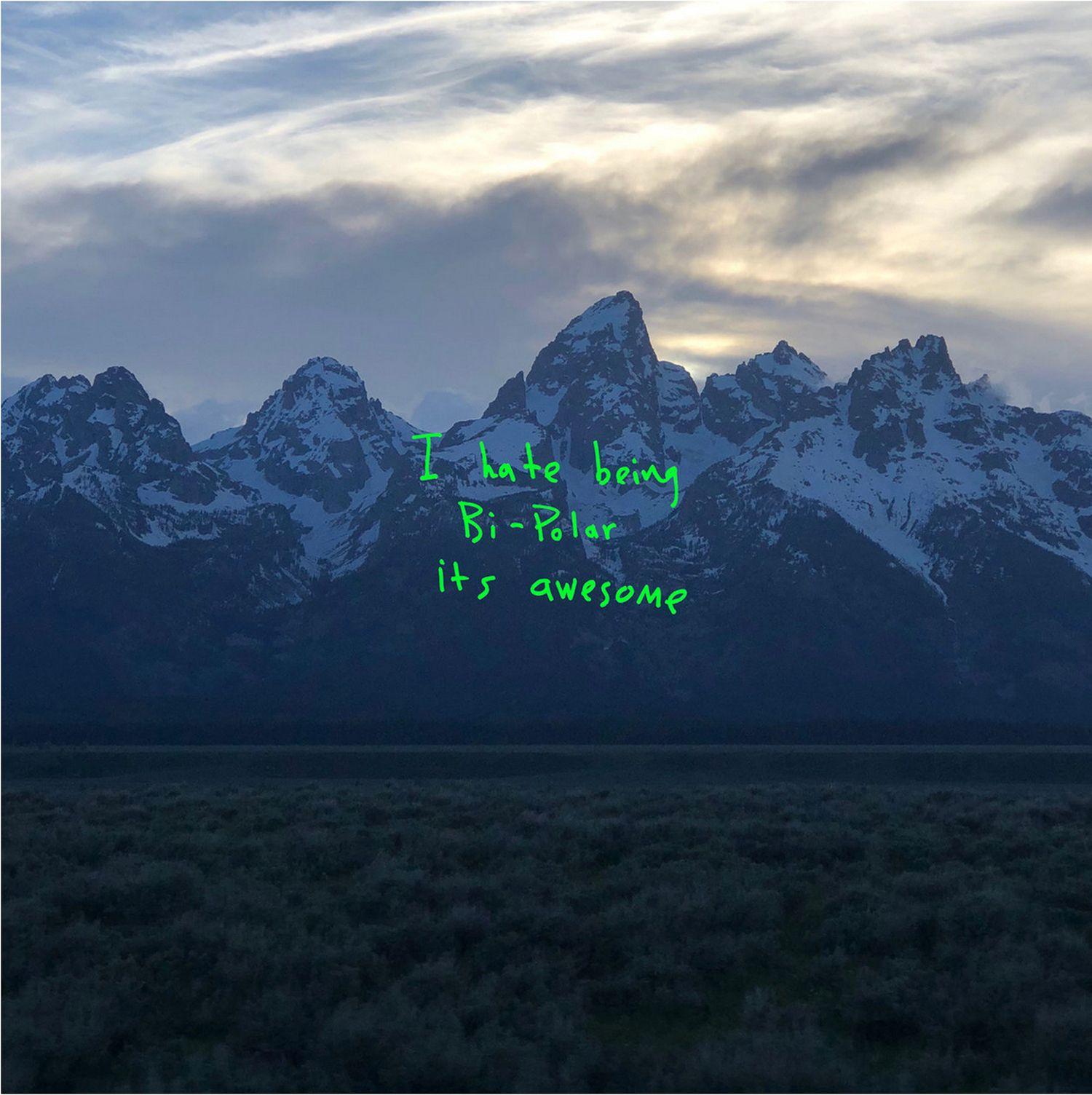 EINMALIGE VERWENDUNG CD/ Kanye West/ Ye/ Cover