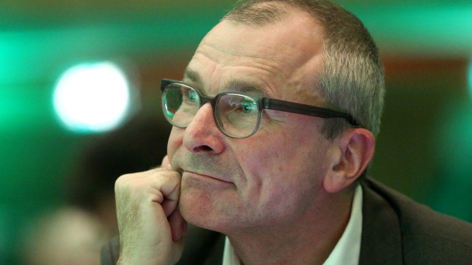 Volker Beck auf dem Landesparteitag