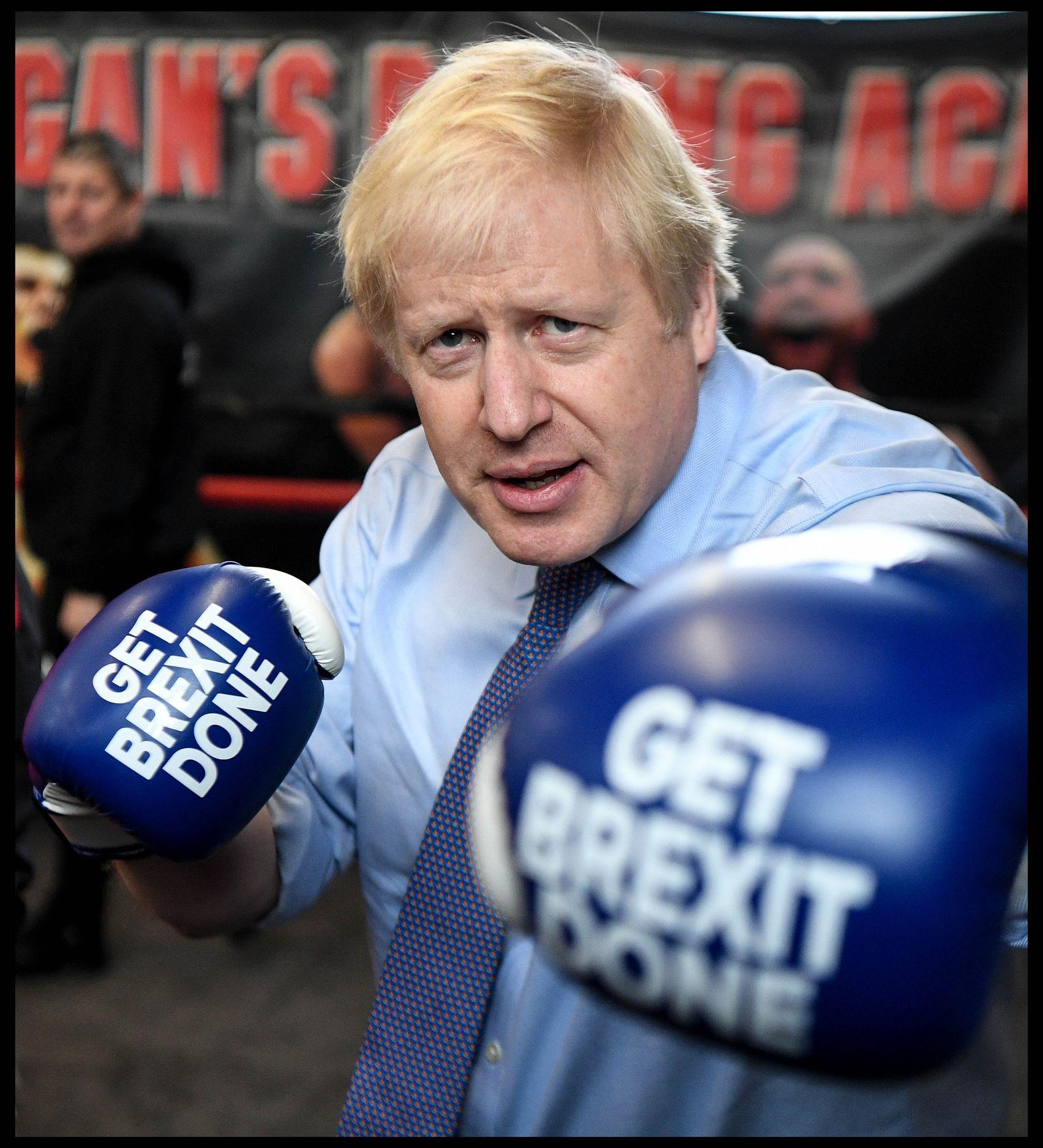 EINMALIGE VERWENDUNG SPIEGEL SP 49/2019 S. 78 Boris Johnson - Labour-Hochburgen