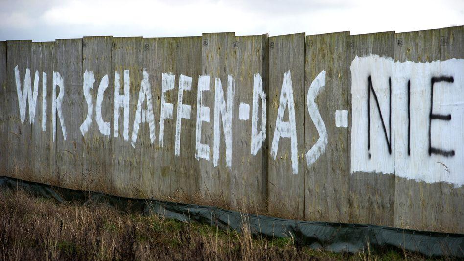 Protest in Mecklenburg-Vorpommern: Viele Deutsche sind voller Sorge, Angst oder Zweifel.