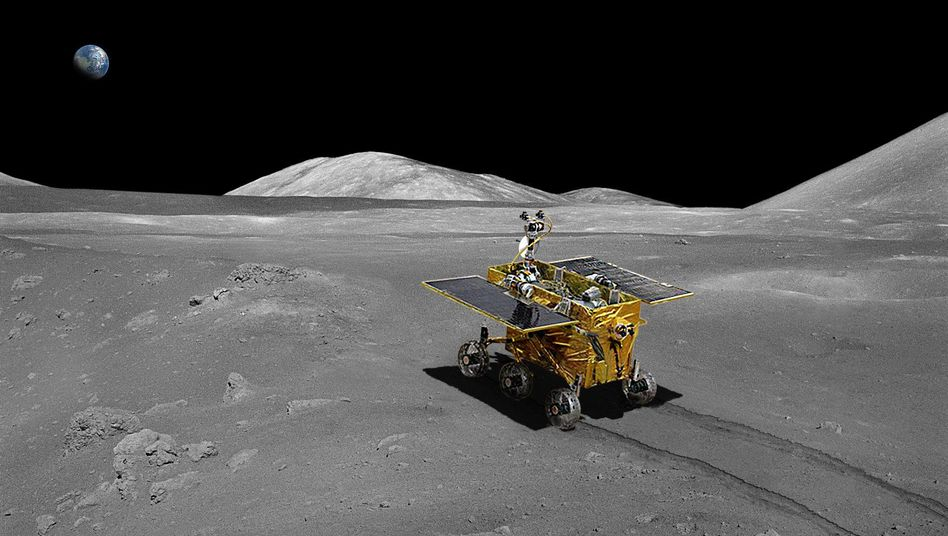 """""""Chang'e-3"""": Chinesisches Raumschiff auf dem Mond gelandet"""