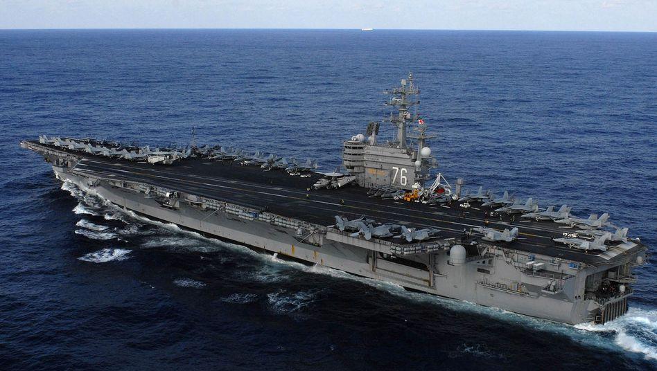 """Flugzeugträger USS """"Ronald Reagan"""": Gefährlicher Einsatz im Pazifik"""