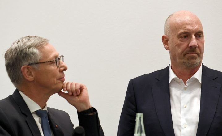 Carsten Sieling, CDU-Herausforderer Carsten Meyer-Heder