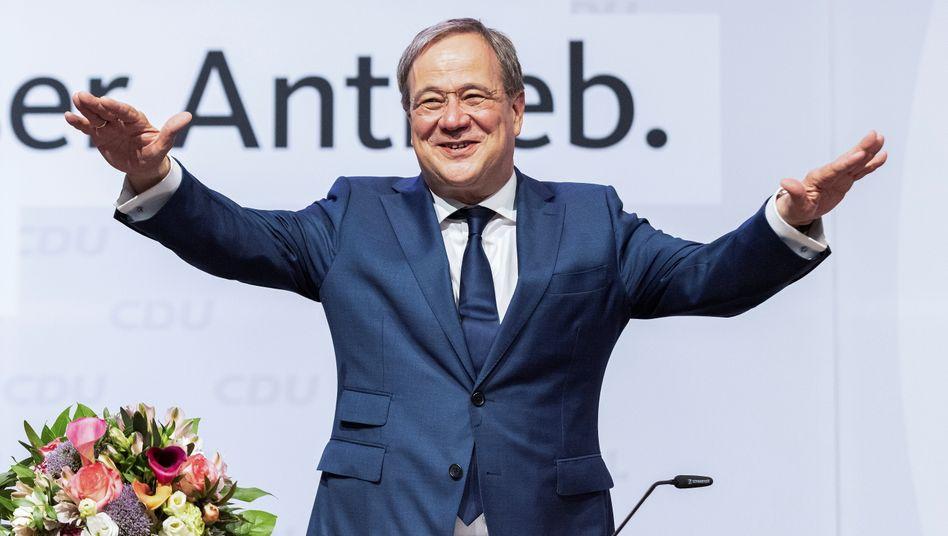 CDU party chair Armin Laschet
