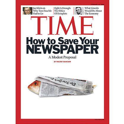 Fisch allein reicht nicht als Argument: Wie ist die Zeitung zu retten?