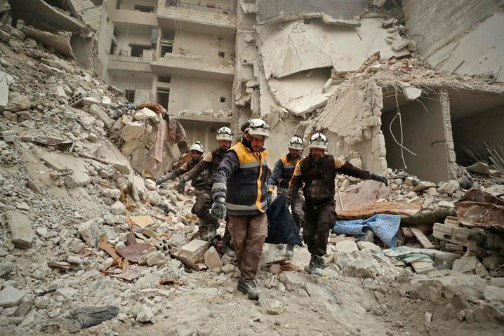Rettungseinsatz in Idlib: Assad äschert lieber Syrien ein, als dass er die Macht abgibt