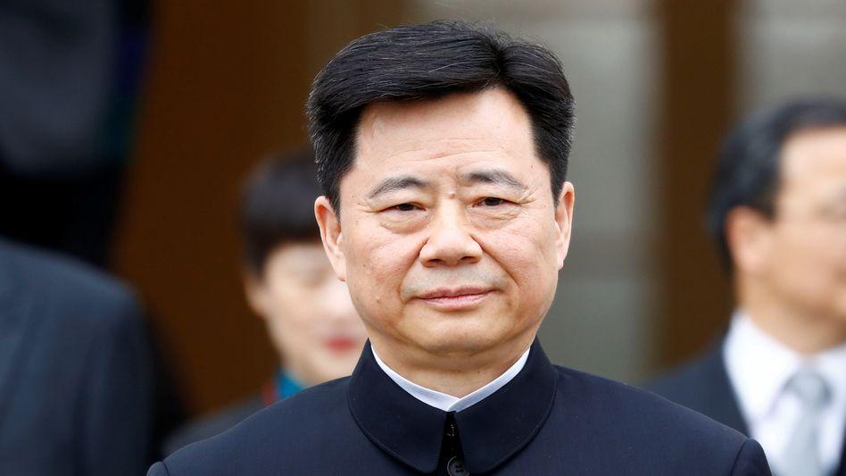 Botschafter Wu Ken