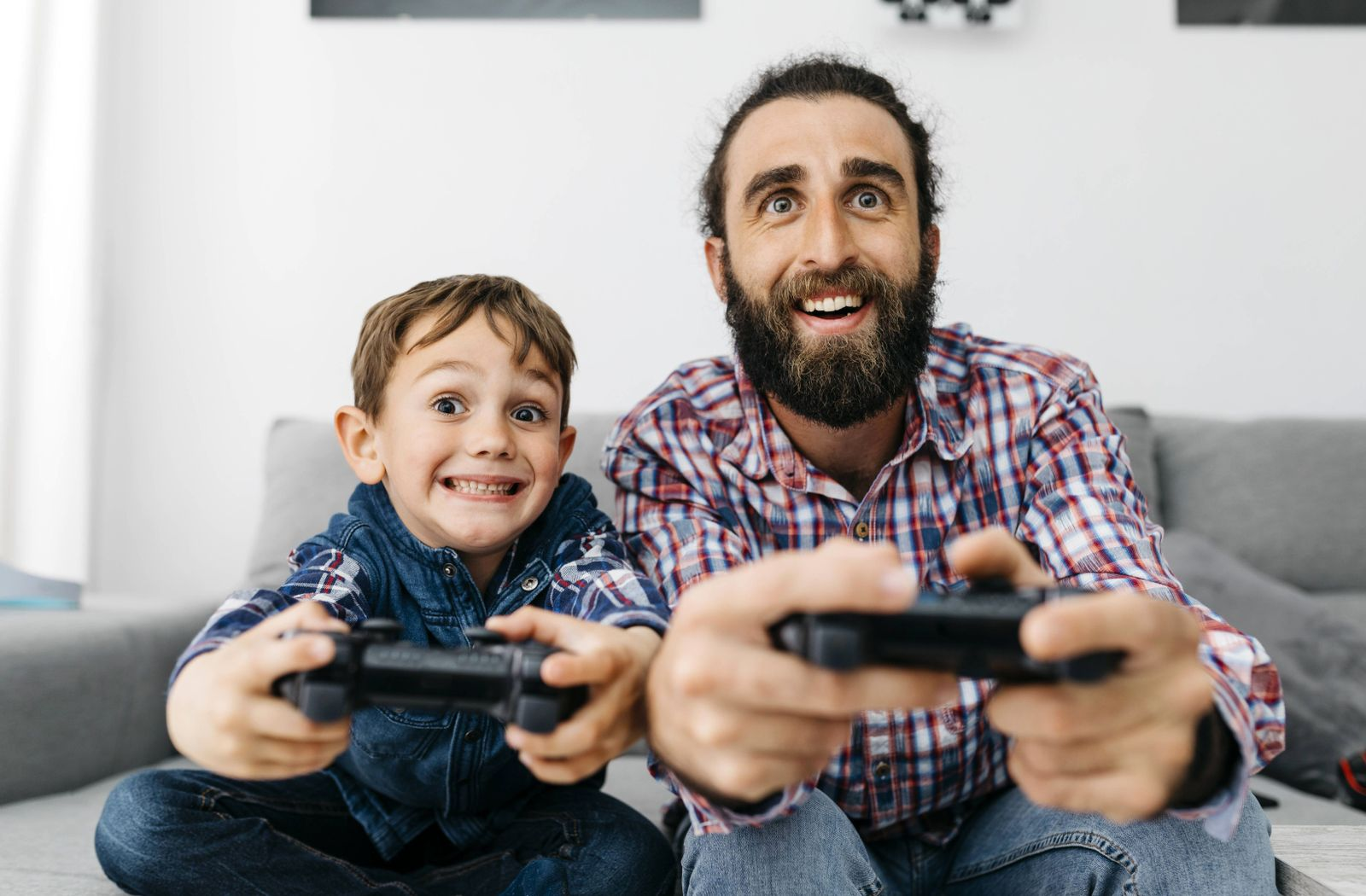 EINMALIGE VERWENDUNG Generationen vor der Spielkonsole