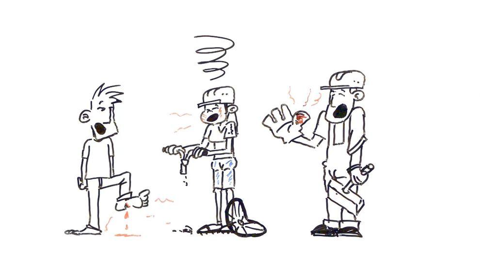 Zeichentrickfilm: Was sind chronische Schmerzen?