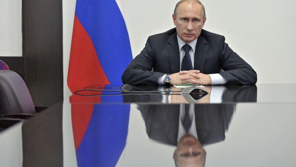 Russlands Präsident Putin: Heftig kritisiert von Menschenrechtlern