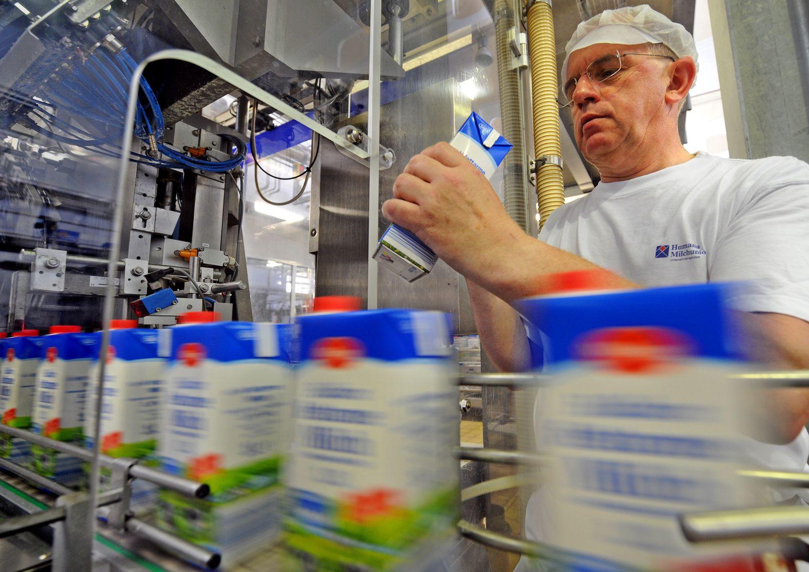 Milch / Milchwerke Thüringen / Russland