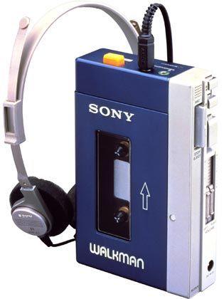 Sony Walkman aus dem Jahr 1979: Läutete Revolution in der Musikbranche ein