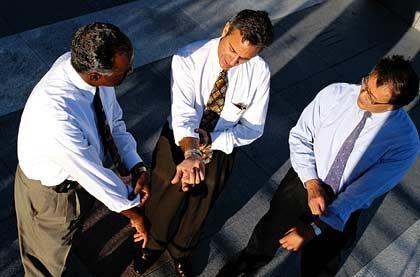 Ärmel aufkrempeln!: Junge Anwälte, die eine Wirtschaftskanzlei gründen, haben es schwer